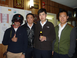 Chinese pilots with Ed | Hastings District Flying Club, Port Macquarie Recreational Aviation | HDFC Port Macquarie