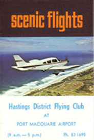 Flying training at Hastings District Flying Club, Port Macquarie Recreational Aviation | HDFC Port Macquarie