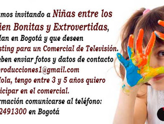Niñas entre los 3 y 5 Años, que residan en Bogotá