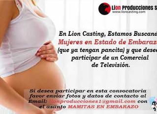 Buscamos Mujeres en Estado de Embarazo