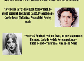 CASTING COLOMBIA