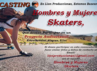 Hombres y Mujeres Skaters