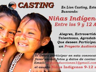 Niñas Indígenas Entre los 9 y 12 Años