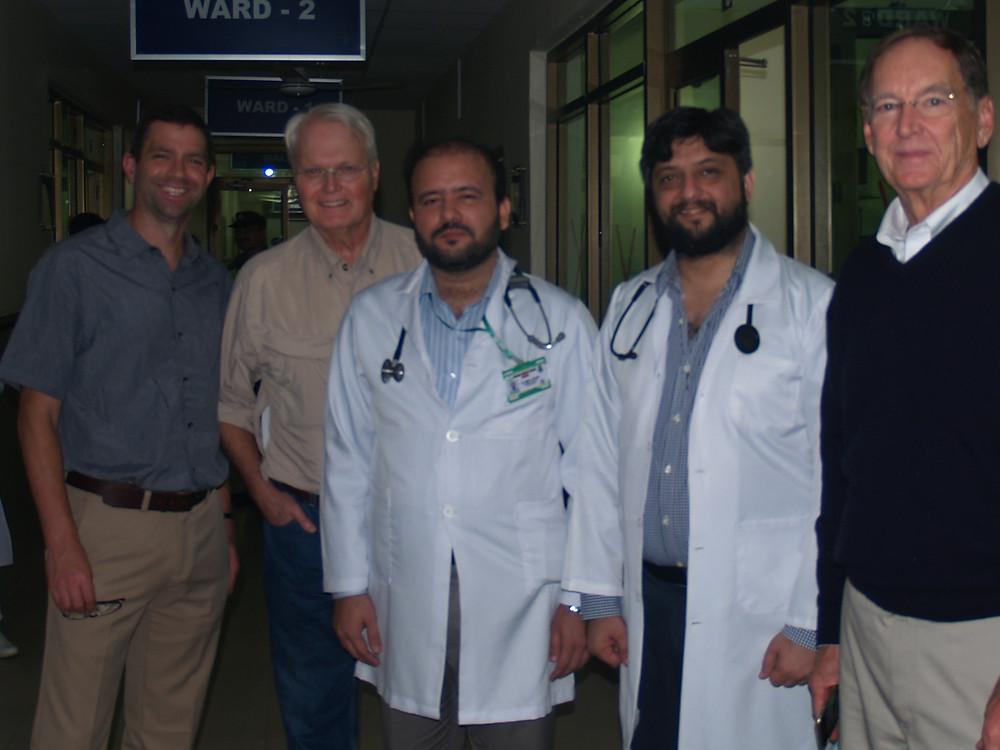 Warren Van Kampen at Sahiwal Christian Hospital