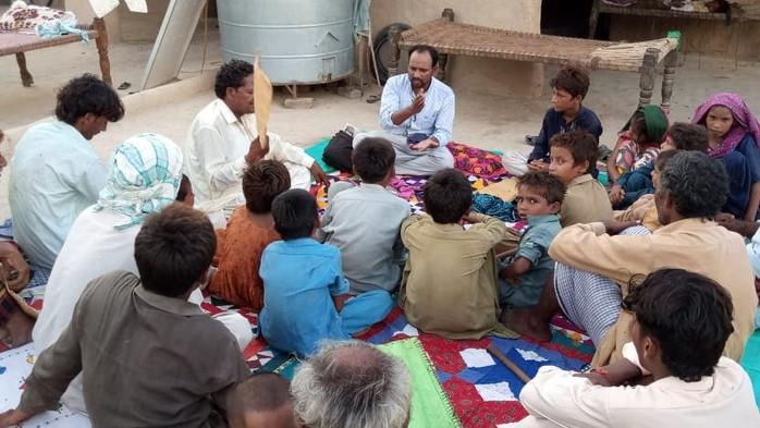 Village Visits in Sindh