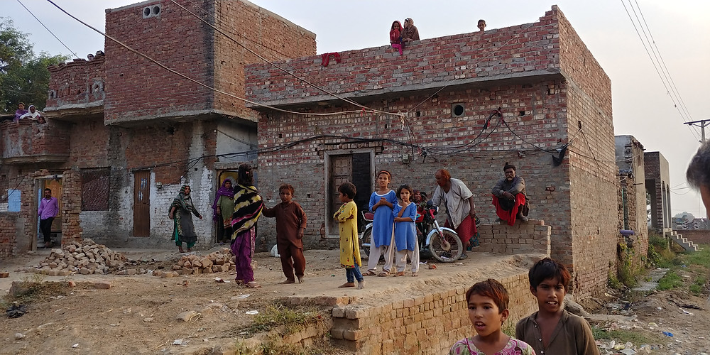 Yesterday we visited a ministry in this Punjab village.