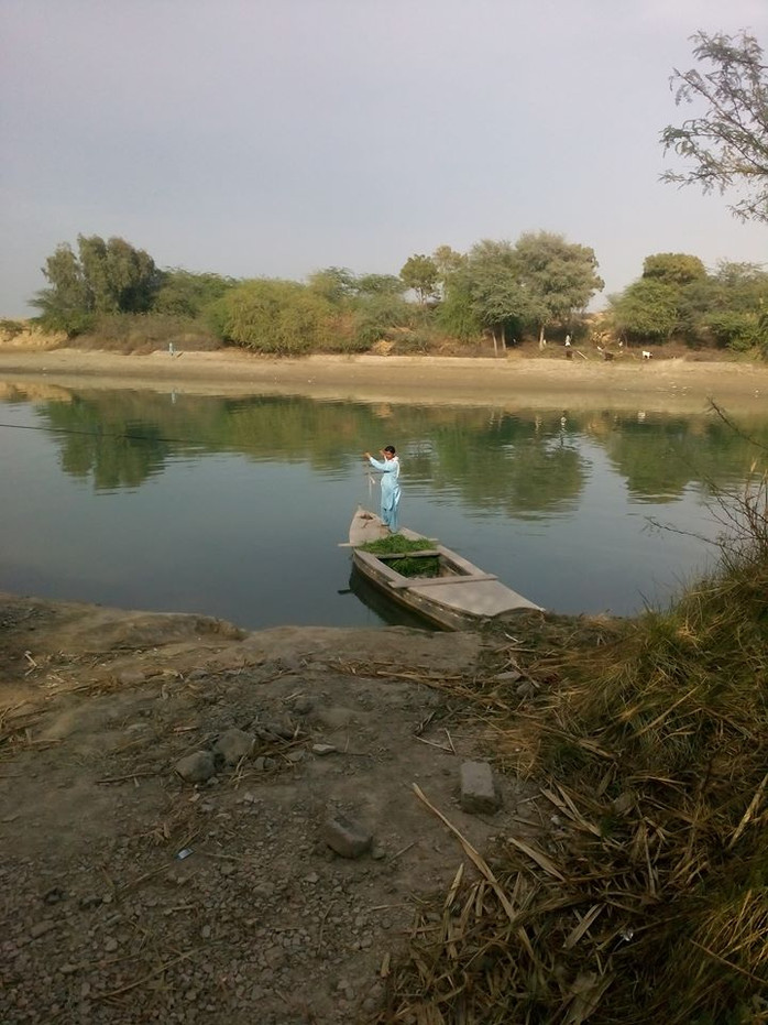 By Boat to Kotri