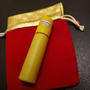 $10.00 UNISEX yellow bottle Elemental Vanilla