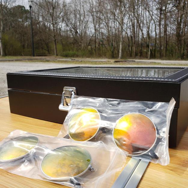 $40 rare yellow small sunglasses