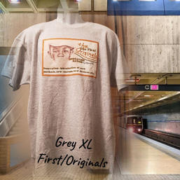 $20 grey/orange First Originals XL