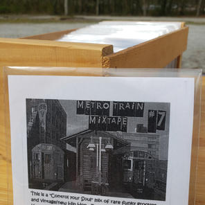 $10 Metro Train Mixtape #7 cd