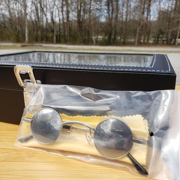 $40 rare grey small sunglasses
