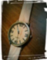 Unisex Tan woody watch 3.jpg