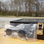 $40 rare black small sunglasses