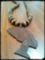 Nefertiti brown wood neckpiece 2.jpg