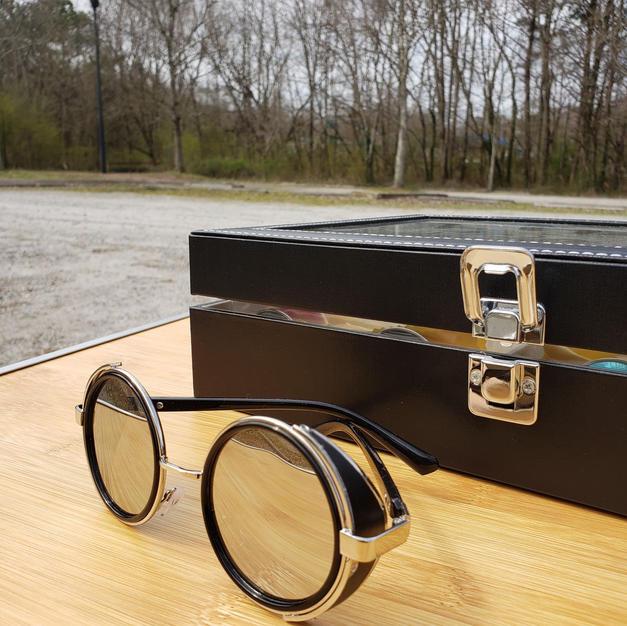 $50 round eye shades with sideguard