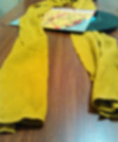 Long gold scarf (male or female) 3.JPG