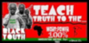 Teach truth to black youth tee.jpg