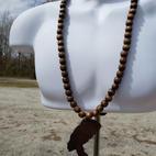 $40 Nefertiti beads facing LEFT