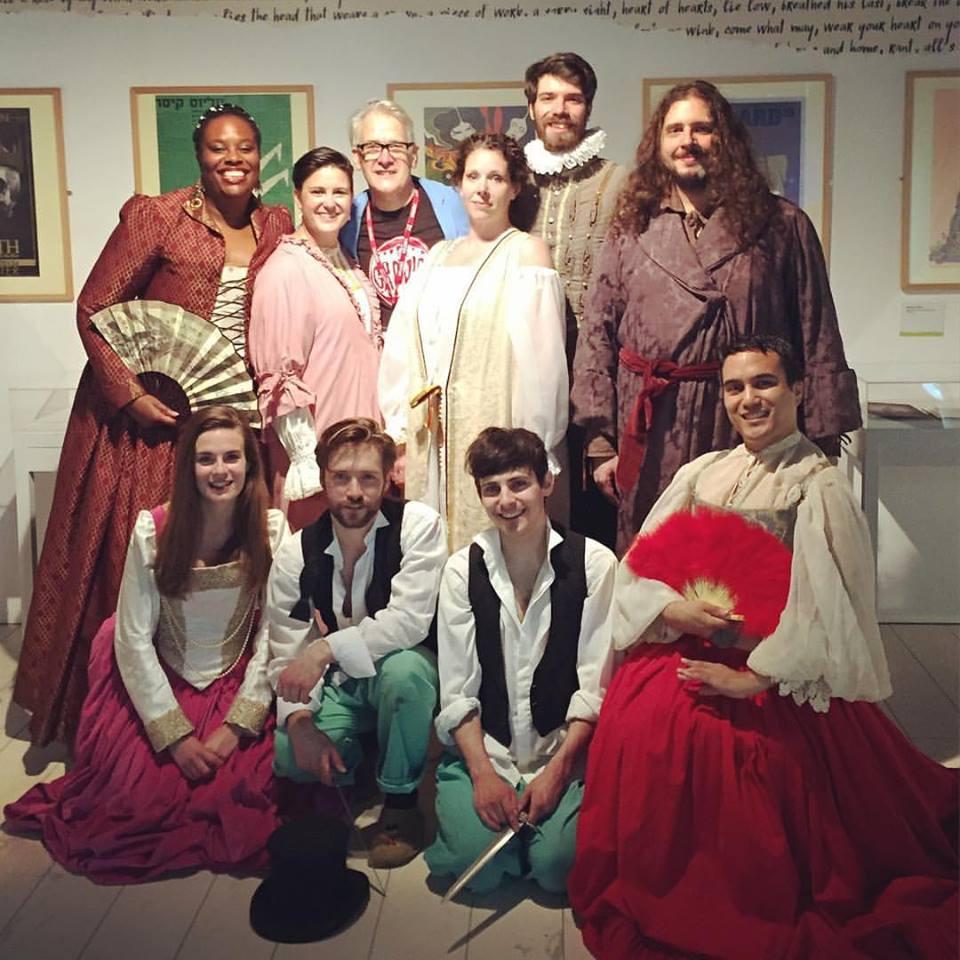 Hamlet Cast - Birmingham Library