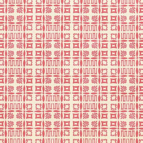 Souvigny Check - Red