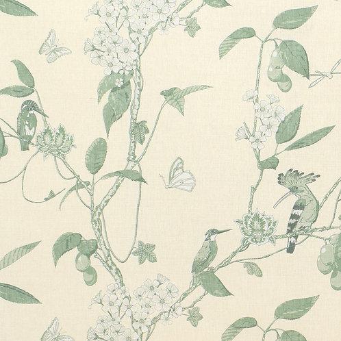 The Navigator's Garden - 'Monochrome' Green on Ivory