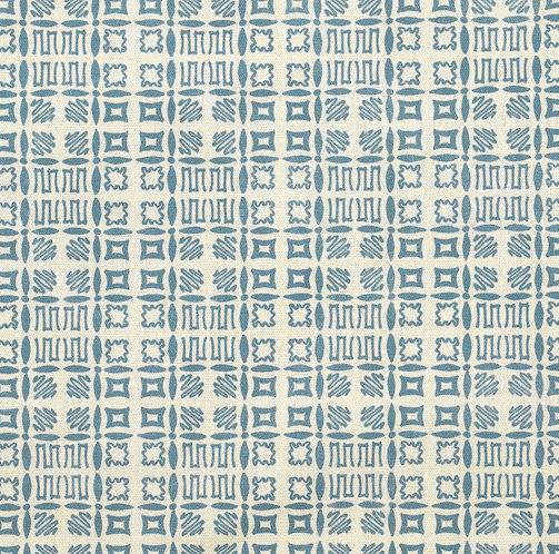 Souvigny Check - Old Royal Blue