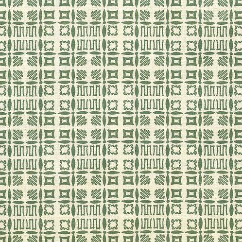 Souvigny Check - Mid Green