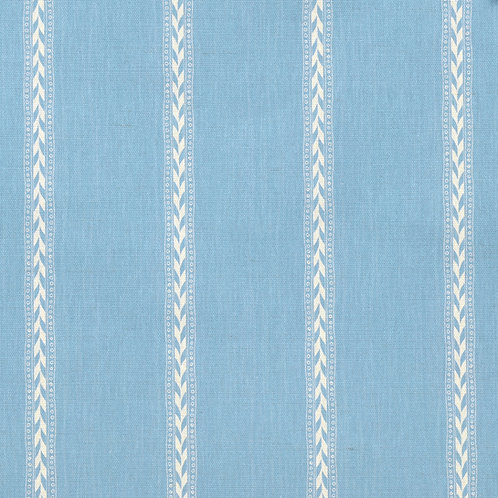Rectory Stripe Reverse - Mid Blue