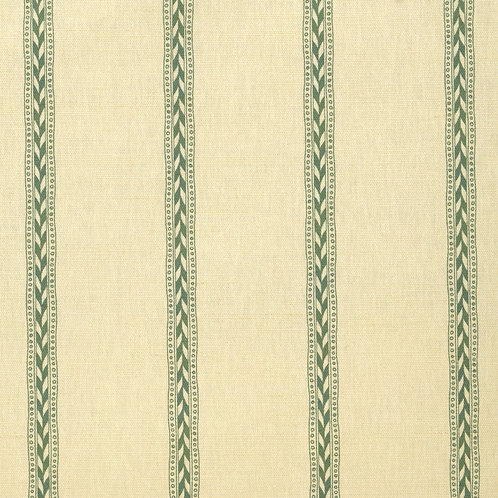 Rectory Stripe - Mid Green