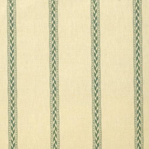 Rectory Stripe - Mid Green