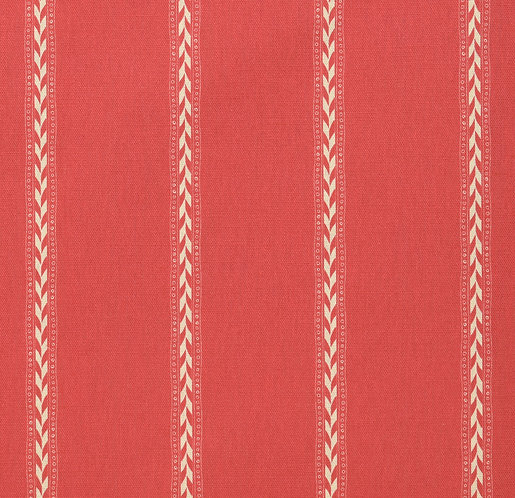 Rectory Stripe Reverse - Red