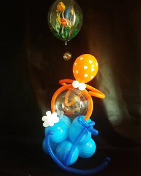 Ballon sous l'océan