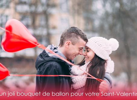 Un bouquet de ballon pour la Saint-Valentin !