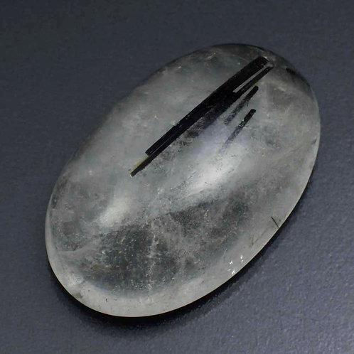 Камень Кварц с рутилом натуральный 44.00 карат