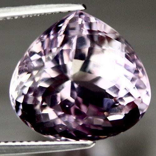 Камень фиолетово-золотистый Аметрин натуральный 15.90 карат