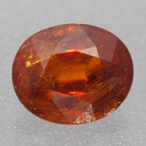 Камень Спессартин Гранат натуральный 3.60 карат