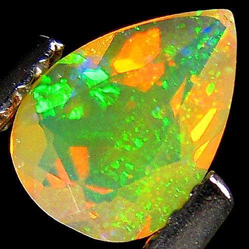 Камень RAINBOW MULTI опал натуральный 0.38 карат