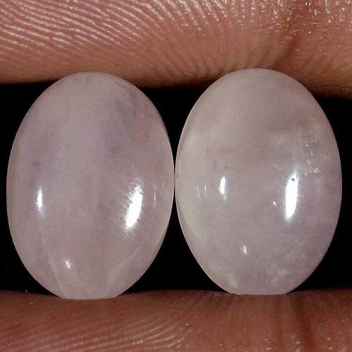 Камень розовый Кварц натуральный 14.10 карат