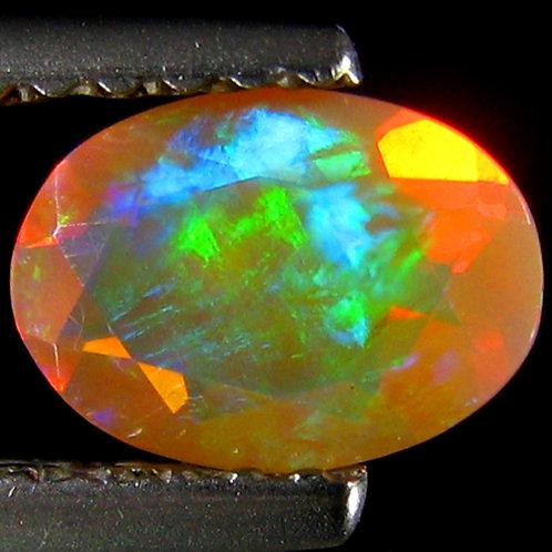 Камень RAINBOW MULTI опал натуральный 0.43 карат