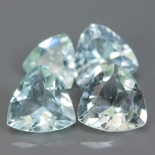 Камень Аквамарин натуральный 1.34 карат