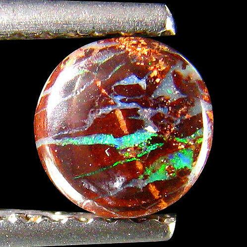 Камень австралийский  болдер Опал натуральный 0.74 карат