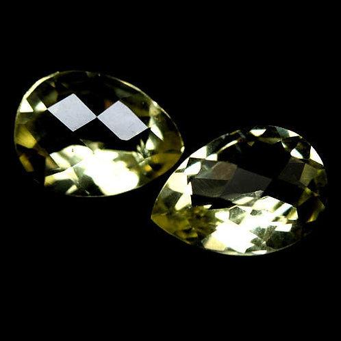 Камень жёлтый Кварц натуральный 8.15 карат