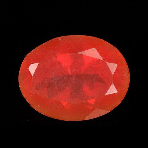 Камень огненный опал натуральный 1.42 карат