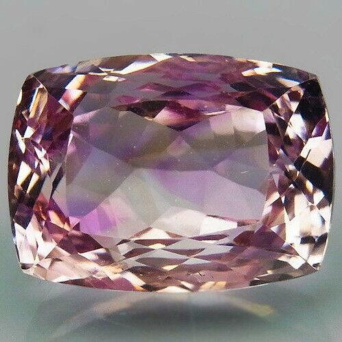 Камень фиолетово-золотистый Аметрин натуральный 14.92 карат