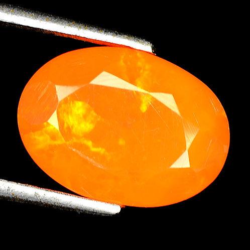 Камень огненный опал натуральный 2.17 карат