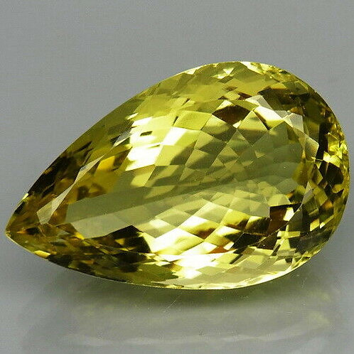 Камень лимонный Кварц натуральный 31.05 карат