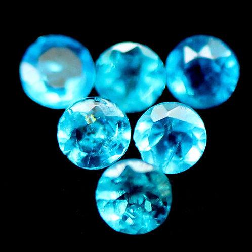 Камень Апатит натуральный 2.63 карат Набор 67 шт