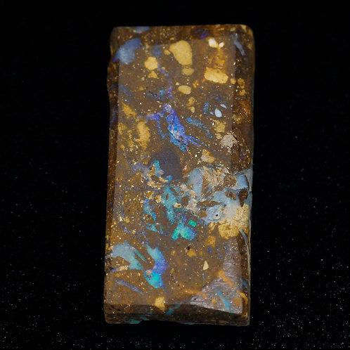 Камень Болдер Опал необработанный натуральный 31.00 карат