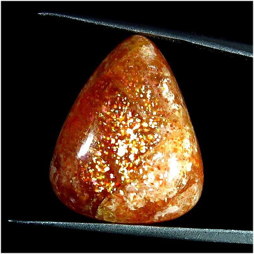 Солнечный камень натуральный 25.15 карат